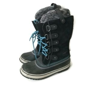 Sorel boots Joan of Arctic winter blue sz 7